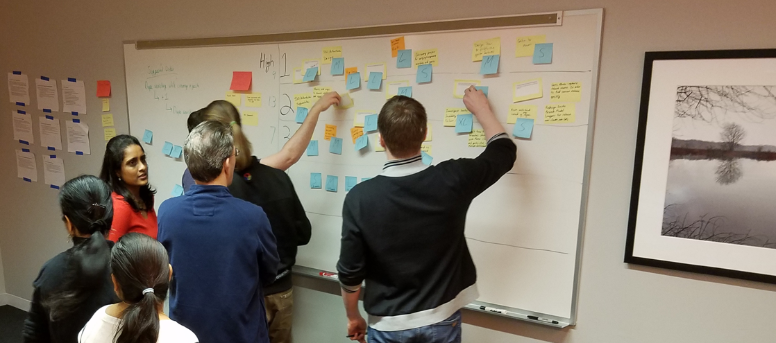 Group prioritization activity